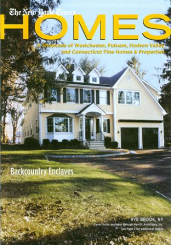 Cover of New York Times Homes, March 2005